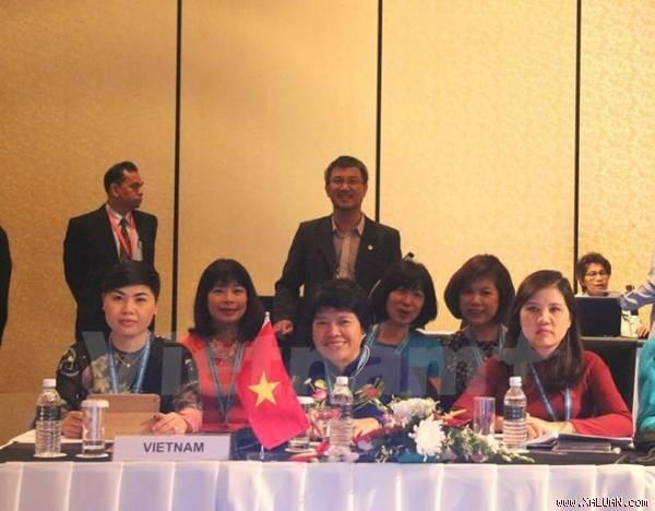 Le Vietnam à la conférence des femmes députés de l'AIPA - ảnh 1