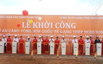 Mise en chantier du port international du complexe sidérurgique Nghi Son - ảnh 1