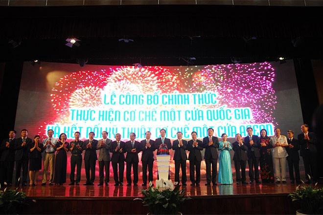 Guichet unique national connecté à celui de l'ASEAN : un progrès dans l'intégration régionale - ảnh 1