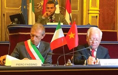 Ho Chi Minh-ville et Turin renforcent leur coopération - ảnh 1