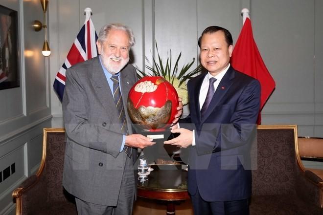 Dynamiser le partenariat vietnamo-britannique - ảnh 1