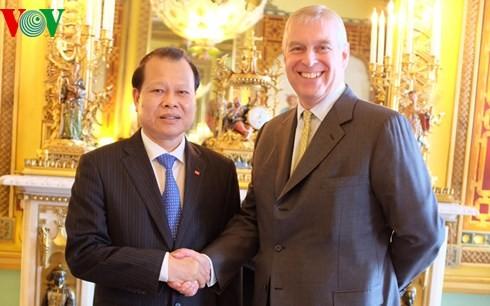 Le Vietnam et la Grande-Bretagne intensifient leur coopération - ảnh 2