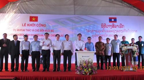 Le PM Nguyên Tân Dung en visite de travail au Laos - ảnh 1