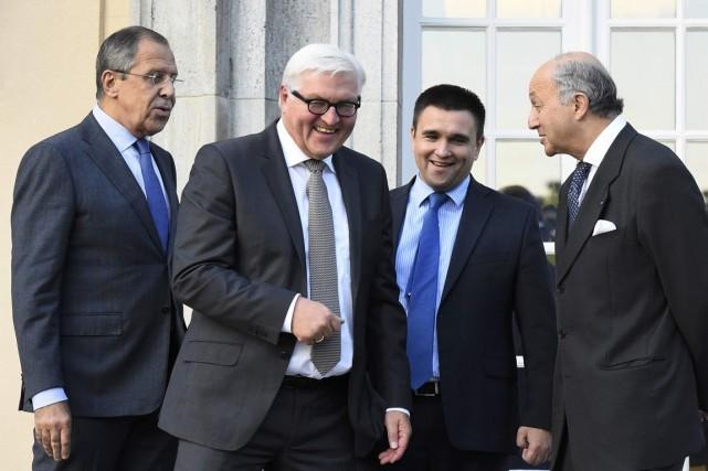 Ukraine: Progrès dans le processus de paix après une rencontre à Berlin - ảnh 1