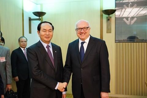 Sécurité publique : renforcement de la coopération entre le Vietnam et l'Australie - ảnh 1