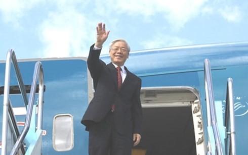 Le SG du PCV entame sa visite officielle au Japon - ảnh 1