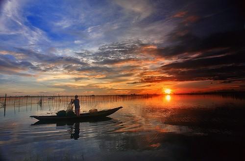 Les marais et lagunes à Hue - ảnh 3