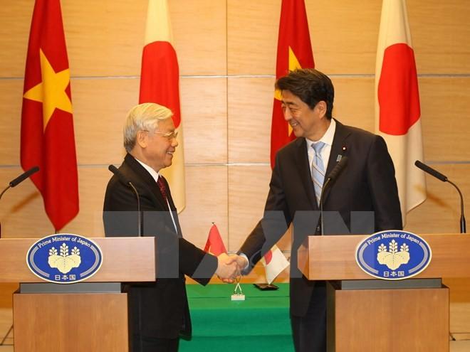 La visite de Nguyen Phu Trong largement couverte par la presse japonaise - ảnh 1
