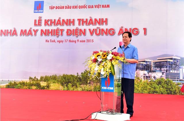 Inauguration de la centrale thermique de Vung Ang 1 - ảnh 1