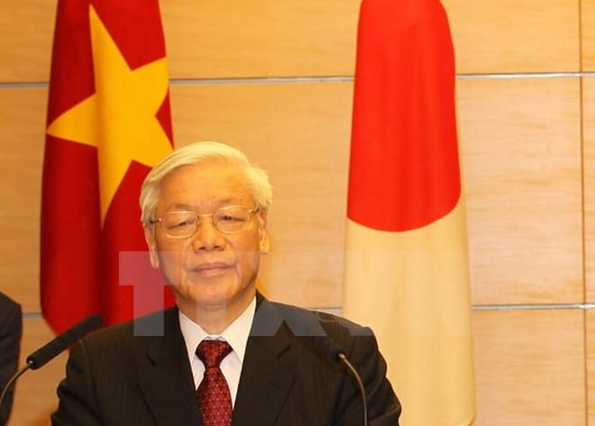 Le Vietnam et le Japon oeuvrent ensemble pour la paix et la prospérité en Asie - ảnh 1
