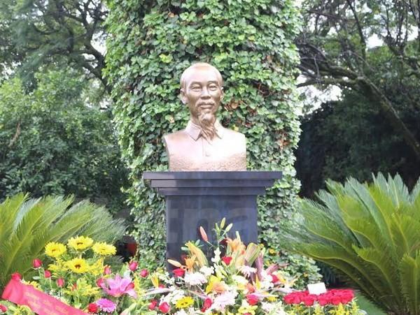 Inauguration du mémorial du président Ho Chi Minh à Mexico - ảnh 1