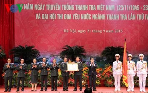 Truong Tân Sang au 70ème anniversaire de l'inspection gouvernementale - ảnh 1