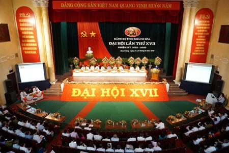 Ouverture du 17ème congrès du PCV pour la province de Khanh Hoà - ảnh 1
