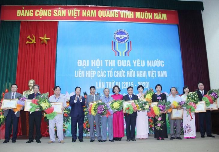 Congrès d'émulation patriotique de l'Union des organisations d'amitié du Vietnam - ảnh 1