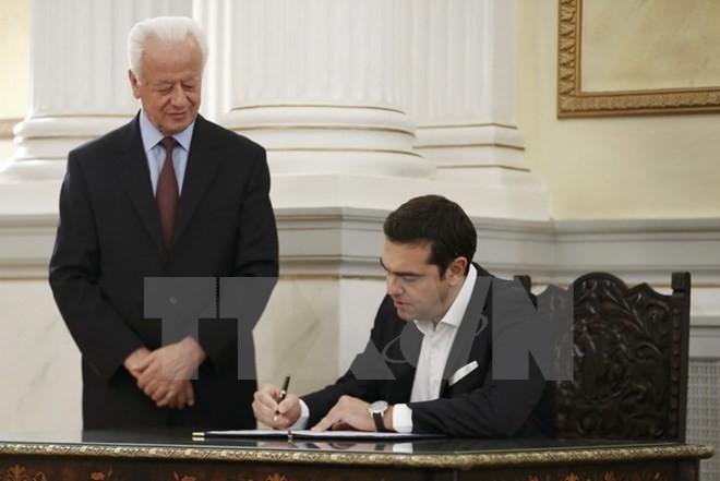 Le gouvernement Tsipras 2.0 dévoilé - ảnh 1