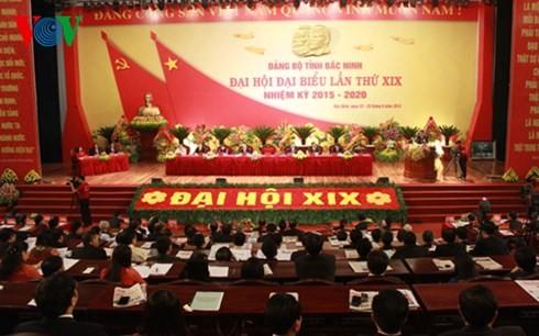 Ouverture des congrès des Comités du PCV pour Can Tho, Bac Ninh et Dak Nong - ảnh 2