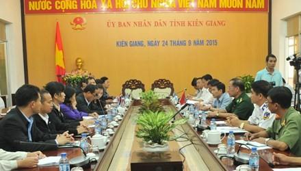 Vietnam-Thaïlande : renforcer la coopération dans la supervision de la pêche - ảnh 1
