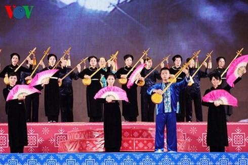 Coup d'envoi du 5ème festival national du chant then et de dan tinh x - ảnh 1