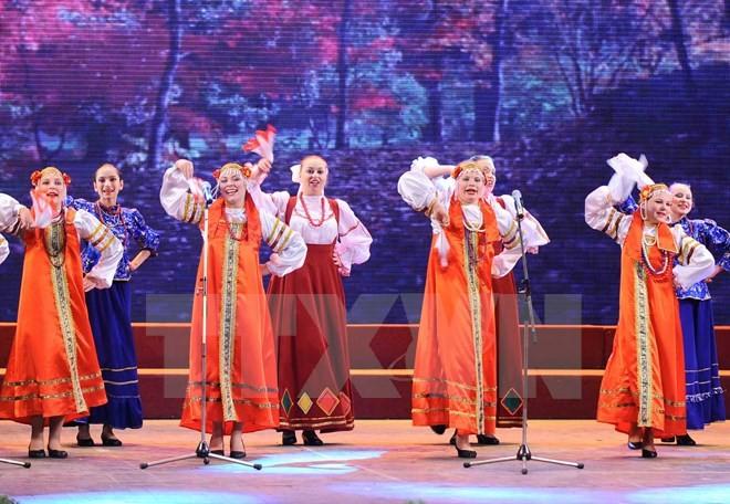 Fête de la culture russe à Hanoi - ảnh 1