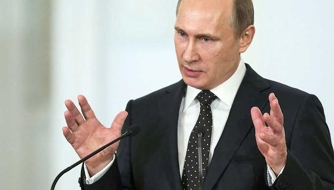 Syrie : Poutine réclame une nouvelle coalition contre l'Etat islamique - ảnh 1