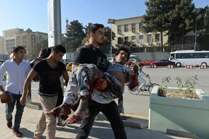 Afghanistan : Attentat lors d'un match de football, 9 morts - ảnh 1