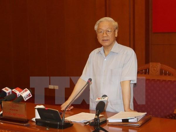 8ème réunion de la direction centrale anti-corruption - ảnh 1