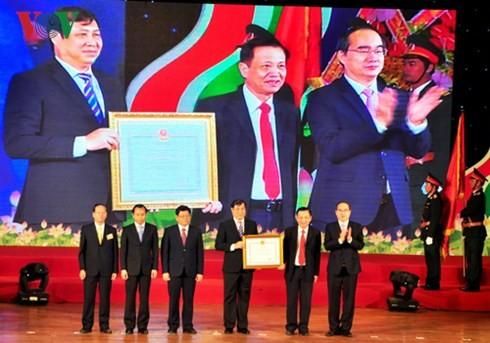 Nguyen Thien Nhan au 4ème congrès d'émulation patriotique de Danang - ảnh 1