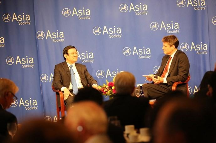 Renforcer le partenariat intégral Vietnamo-américain - ảnh 1
