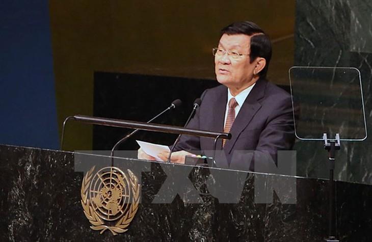 Truong Tan Sang au sommet sur les opérations de maintien de la paix  - ảnh 1