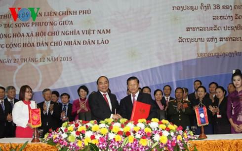 La commission inter-gouvernementale Vietnam-Laos tient sa 38ème session - ảnh 2
