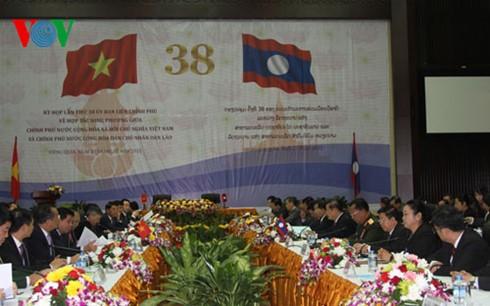 La commission inter-gouvernementale Vietnam-Laos tient sa 38ème session - ảnh 1