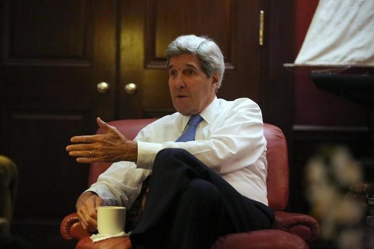 John Kerry énumère sept importantes réalisations diplomatiques américaines - ảnh 1