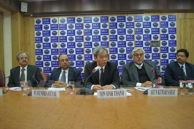 Inde colloque sur la coop ration commerciale avec le vietnam for Chambre de commerce vietnam