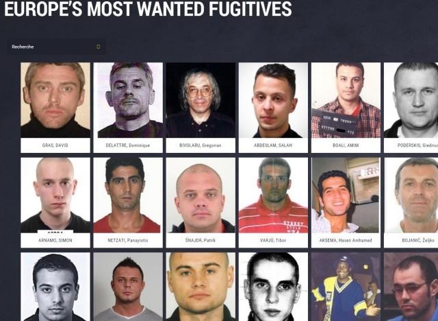 Europol publie une liste des 57 fugitifs les plus recherchés - ảnh 1