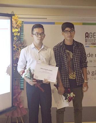 Dinh Tuan Hai, lauréat du prix d'excellence de l'AUF - ảnh 2