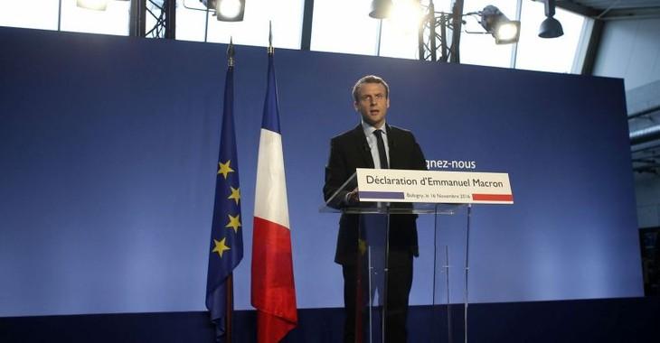 France : Emmanuel Macron candidat à la présidentielle - ảnh 1