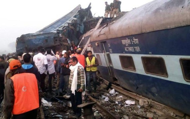 Accident de train en Inde: messages de condoléances des dirigeants vietnamiens - ảnh 1