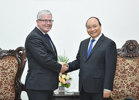 Le nouvel ambassadeur australien reçu par Nguyen Xuan Phuc - ảnh 1