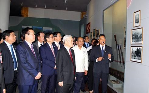Dernières activités de Nguyen Phu Trong au Laos - ảnh 2