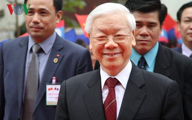 Dernières activités de Nguyen Phu Trong au Laos - ảnh 1