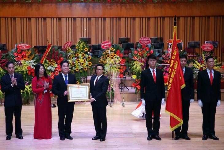 L'Académie nationale de musique du Vietnam souffle ses 60 bougies - ảnh 1