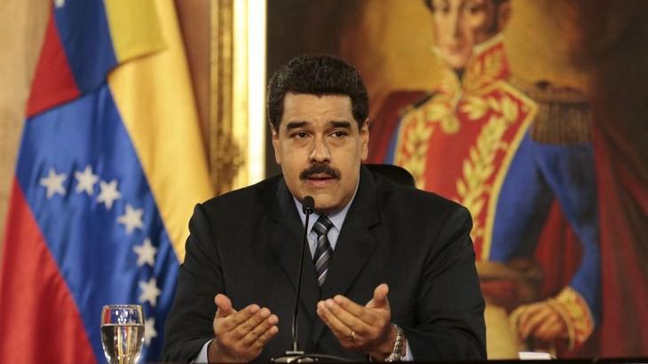 Nicolas Maduro déterminé à tenir les pourparlers avec l'opposition - ảnh 1