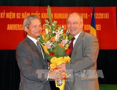 Célébration de la fête nationale roumaine à Hanoï  - ảnh 1