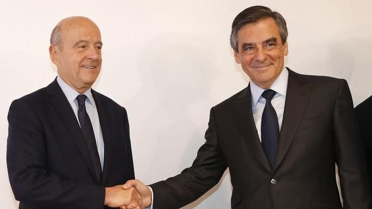 Primaire de la droite : François Fillon obtient un net succès face à Alain Juppé - ảnh 1