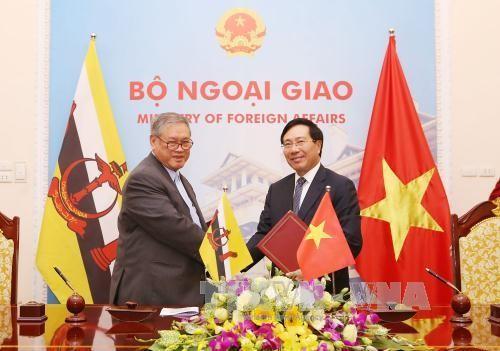 1ère réunion de la commission de coopération Vietnam-Brunei - ảnh 1