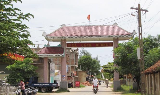Le village de pêcheurs de Canh Duong - ảnh 1