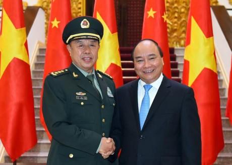 Nguyen Xuan Phuc reçoit Fan Changlong - ảnh 1