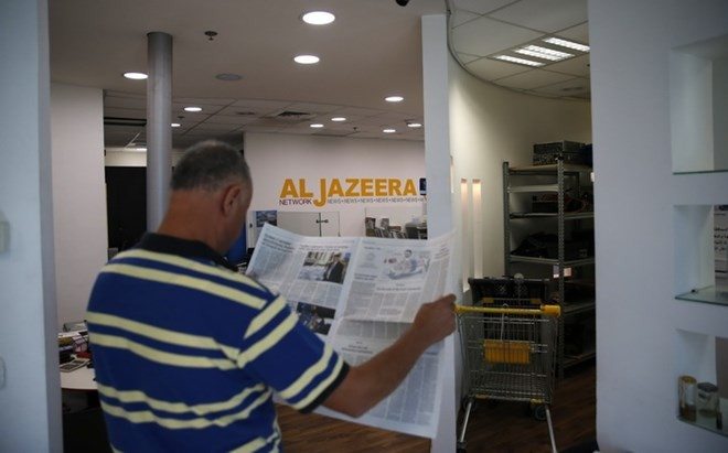 អ៊ីស្រាអែលបិទទ្វារខុទ្ទកាល័យតំណាងរបស់កាណាល់ទូរទស្សន៍ al-Jazeera  - ảnh 1