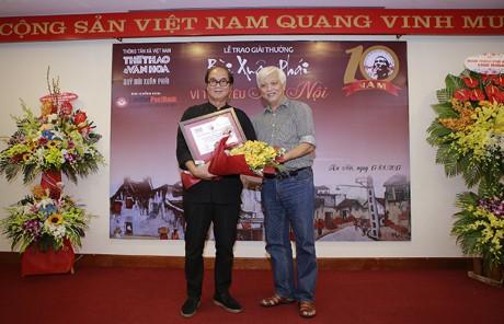 """""""ពានរង្វាន់ Bui Xuan Phai - ដើម្បីសេចក្តីស្រឡាញ់ទីក្រុងហាណូយ"""" - ảnh 4"""