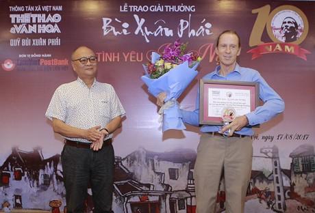 """""""ពានរង្វាន់ Bui Xuan Phai - ដើម្បីសេចក្តីស្រឡាញ់ទីក្រុងហាណូយ"""" - ảnh 3"""